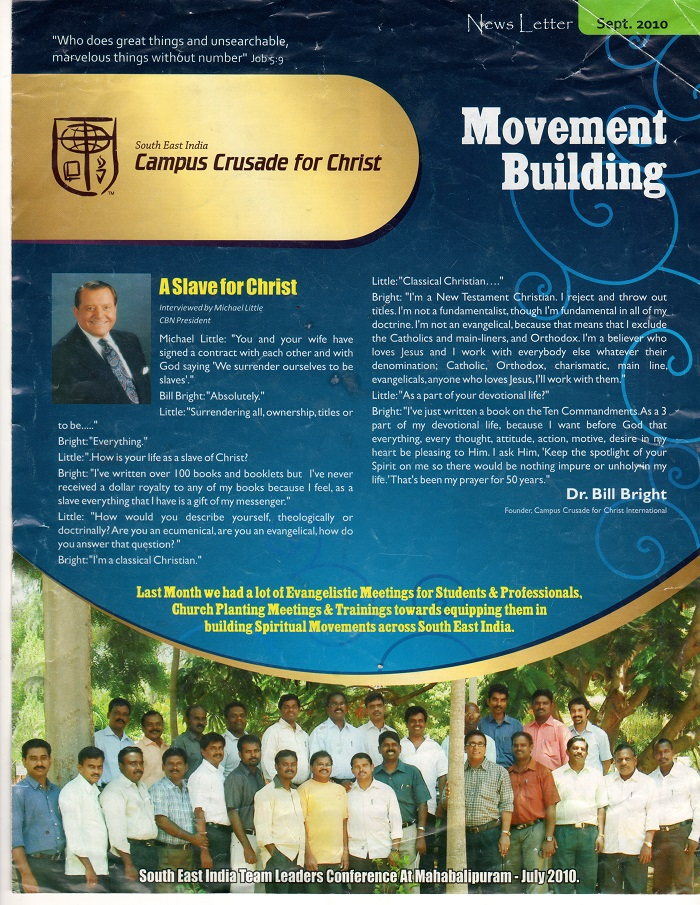 bill bright campus crusade for christ